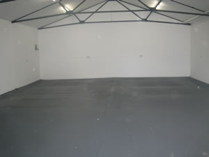 Internal photo of one of our storage units